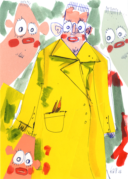 Bas Kosters Column 44: That Coat Must Have Cost So Much Fabric