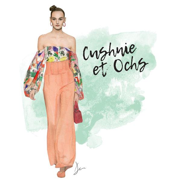 Cushnie et Ochs S/S 2018